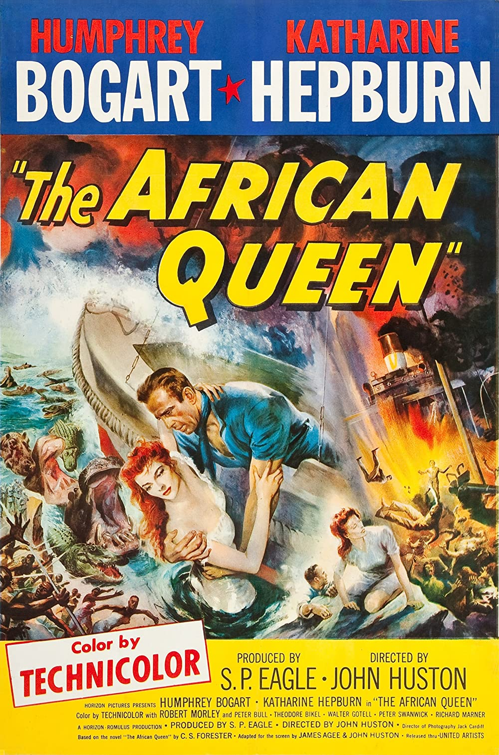 The African Queen Re-release poster