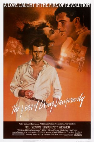 The Year of Living Dangerously Poster