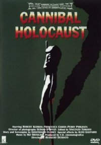 Cannibal Holocaust dvd cover