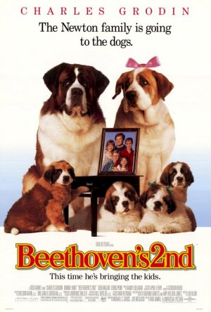 Beethoven's 2nd Poster