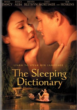 The Sleeping Dictionary Dvd cover