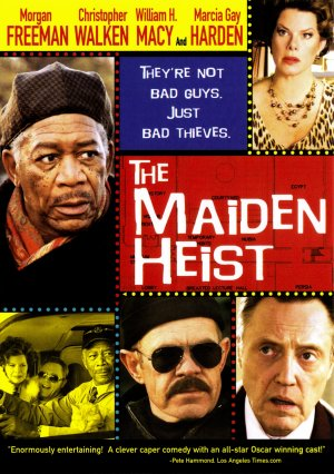 The Maiden Heist Cover