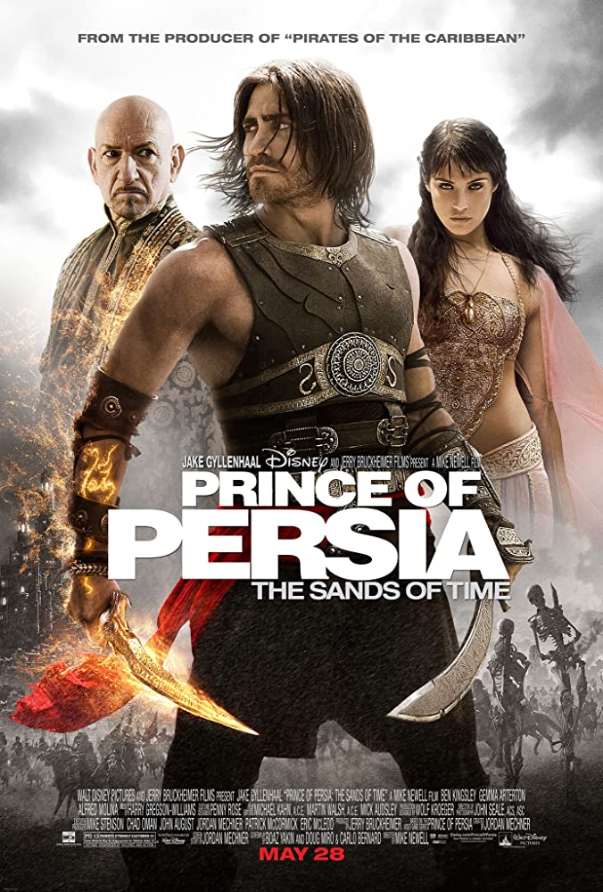 Prince of Persia: The Sands of Time Video release poster