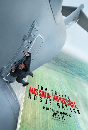 Mission: Impossible - Rogue Nation  Teaser poster
